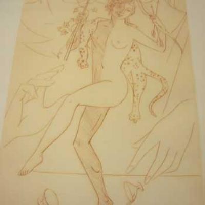 Elpénor par Jean Giraudoux. Cuivres originaux de M.Clouzot