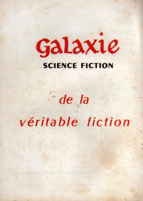 Galaxie Science Fiction N°8