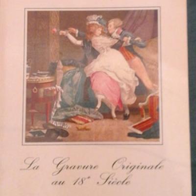 Adhémar La gravure originale au 18ième siècle
