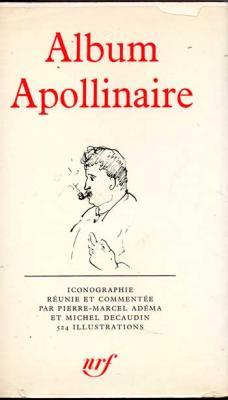 Adéma et Decaudin Album Apollinaire