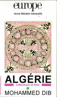 Collectif Algérie Littérature et Arts Revue Europe