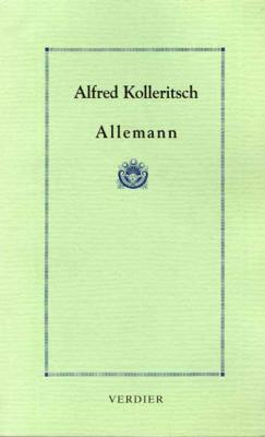Kolleritsch Alfred Allemann