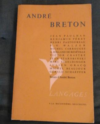 Eigeldinger Marc présente André Breton Essais