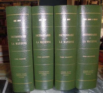 Angot A. Dictionnaire de la Mayenne VENDU