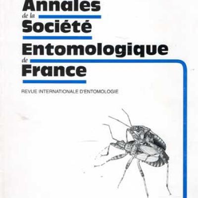 Collectif Annales de la société entomologique de France Juin 1997