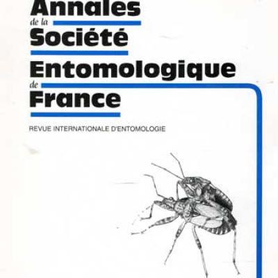 Collectif Annales de la société entomologique de France Mars 1997