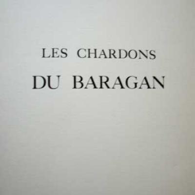 Les chardons du Baragan par Panaït Istrati. Illustré par Vasile Pintea