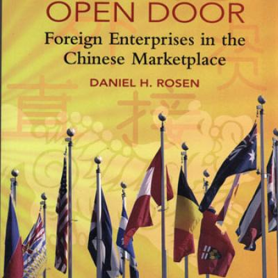 Behind the Open Door Foreign Enterprises in the Chinese Marketplace by D.H.Rosen