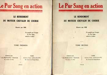 Fournier Paul (Ormonde) Le Pur Sang en action Illustré par BIB