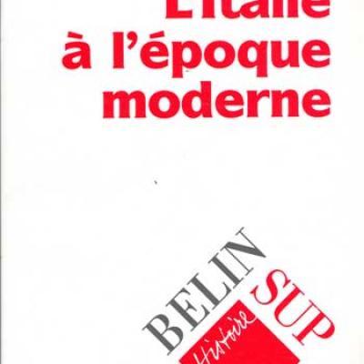 Brizay François L'Italie à l'époque moderne