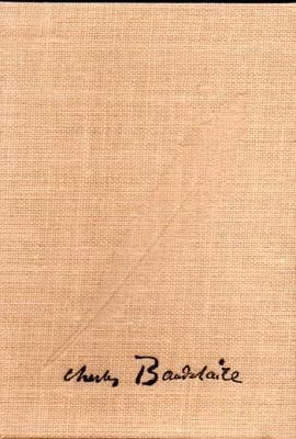 Baudelaire Oeuvres poétiques VENDU