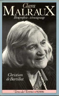 De Bartillat Christian Clara Malraux