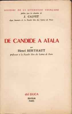 De Candide à Atala par Henri Berthaut