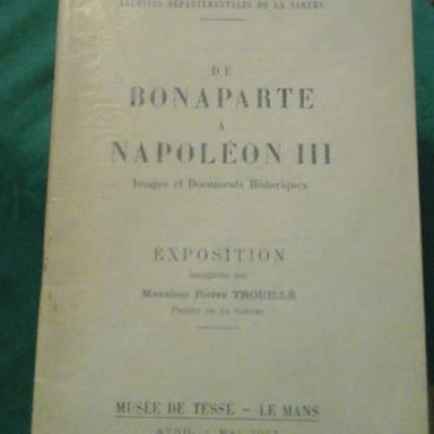 Cordonnier Paul présente De Bonaparte à Napoléon III