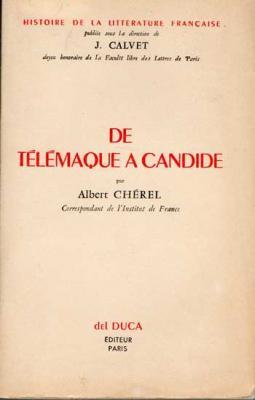 De Télémaque à Candide par Albert Chérel