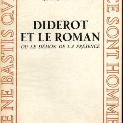 Kempf Roger Diderot et le roman
