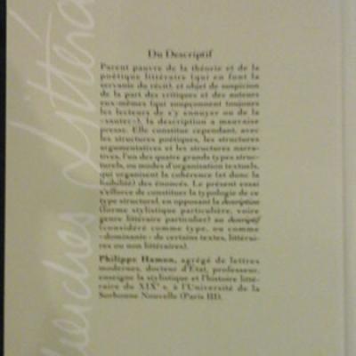 Hamon P. Du Descriptif