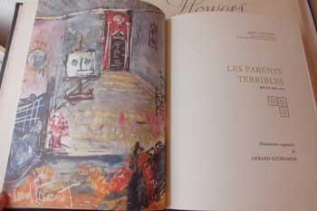 Jean Cocteau illustré par Economos