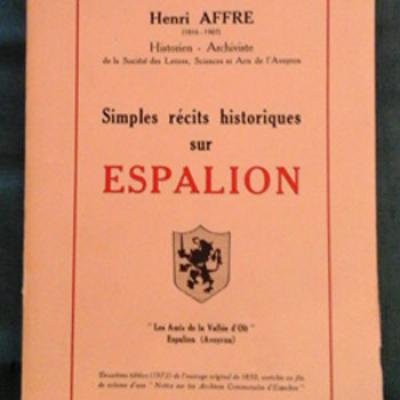 Affre Henri Simples récits sur Espalion