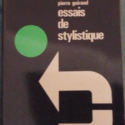 Guiraud Pierre Essais de stylistique