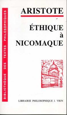 Aristote Ethique à Nicomaque