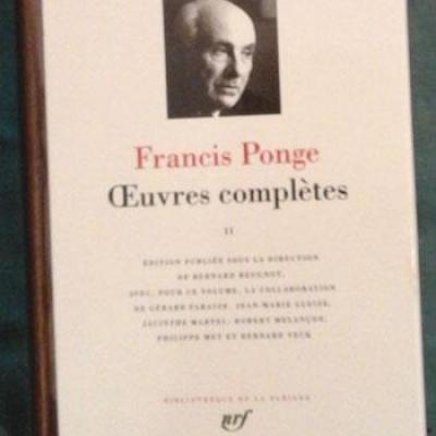 Francispongepleiade