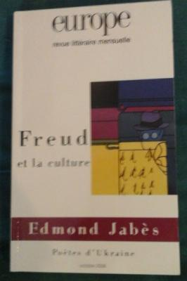 Collectif Freud et la culture Revue Europe
