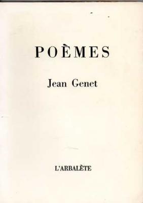 Genet Jean Poèmes