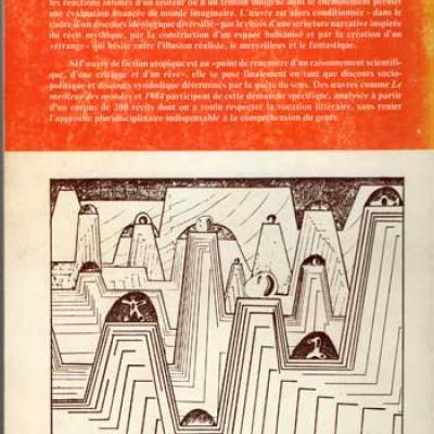 Formes du roman utopique en Grande-Bretagne par H.Greven-Borde