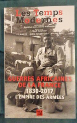 Collectif Guerres africaines de la France 1830-2017 L'empire des armées