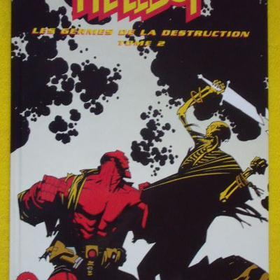 Hellboy Les germes de la destruction tome 2 par Michael Mignola