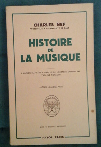 Histoiredelamusiquenef
