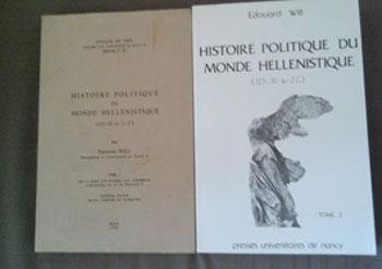Will Edouard Histoire politique du monde hellénistique