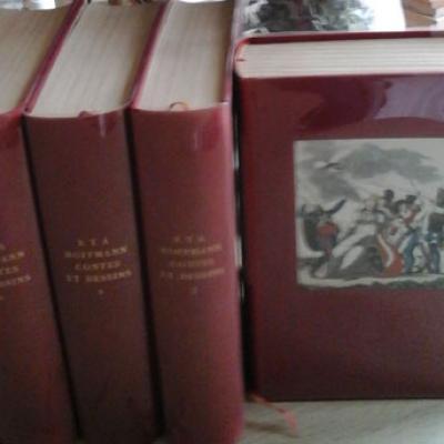 Hoffmann E.T.A. Contes et Dessins Volume 1 à 4
