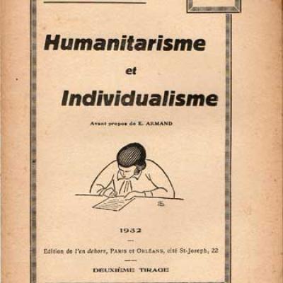 Humanitarisme et individualisme par Eugen Relgis