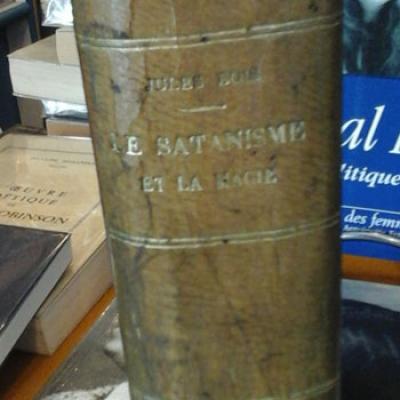 Bois Jules Le Satanisme et la Magie Edition originale VENDU