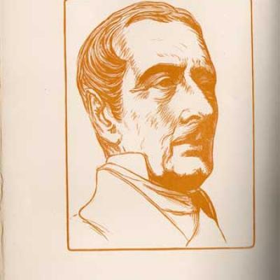 L'abdication du poète par Maurice Barrès. Chez Crès