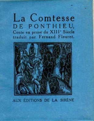 Fleuret Fernand La Comtesse de Ponthieu