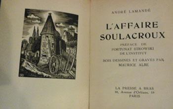 Lamandé André L'affaire Soulacroux