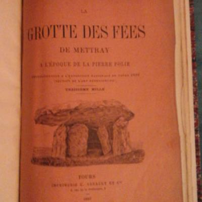 Ledouble Dr La grotte des fées de Mettray