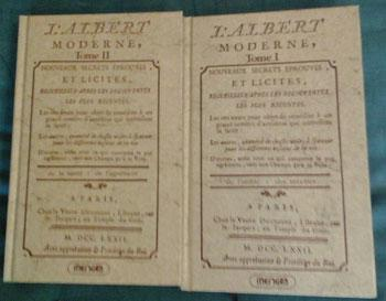 L' Albert moderne Tome 1 et 2 Reprint