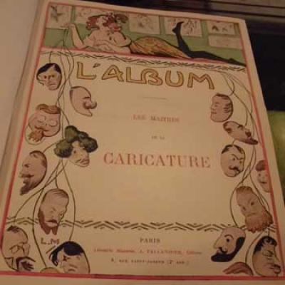L'Album Les Maîtres de la caricature Aquarelles et dessins inédits VENDU