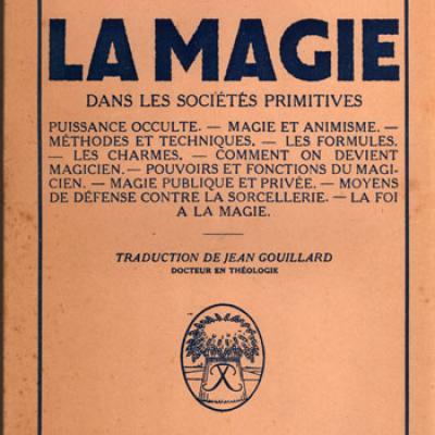 La magie dans les sociétés primitives par H.Webster VENDU