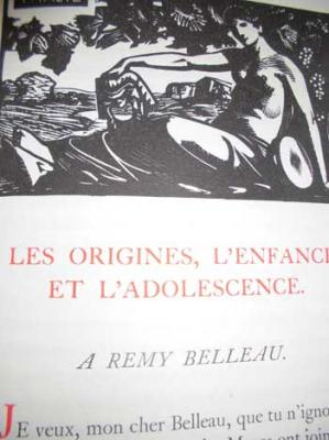 Plattard Jean présente La Muse de Ronsard Vignettes gravées sur bois par Carlègle