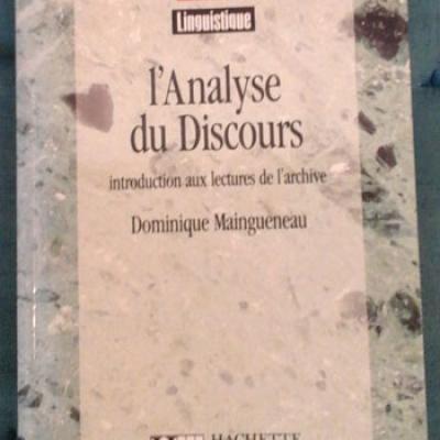 Maingueneau D. L'analyse du discours