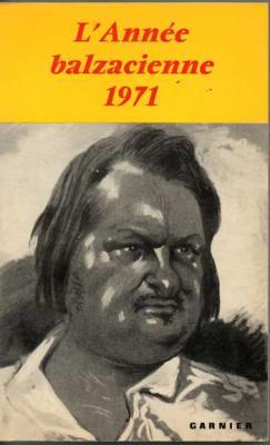 Collectif L'année balzacienne 1971