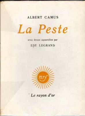 Camus Albert La Peste Avec douze aquarelles par Edy Legrand