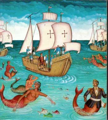 Drot Jean Marie La rencontre des deux mondes vue par les peintres d'Haïti