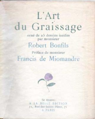 Bonfils Robert L'Art du graissage