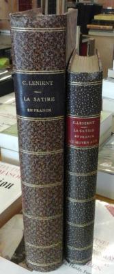 Lenient G. La satire en France Complet en deux volumes